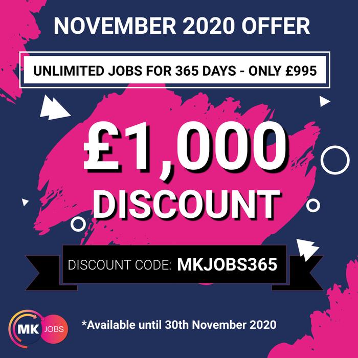 November 2020 Employer Discount